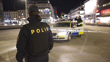 AOP, Ruotsi, poliisi, poliisiauto, Tukholma