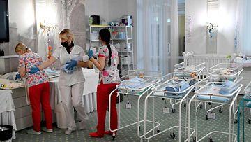 LK: Ukraina kohdunvuokraus vauvat 2