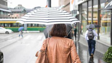 AOP sää kevät sade helsinki vesisade sateenvarjo