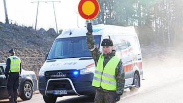 Uusimaa korona puolustusvoimat ambulanssi