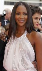Naomi Campbell Cannes 2008