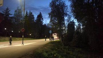 oma Mäkkylä räjähdys Espoo evakuoitujen bussi 25.5.2020