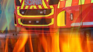 AOP pelastuslaitos tulipalo