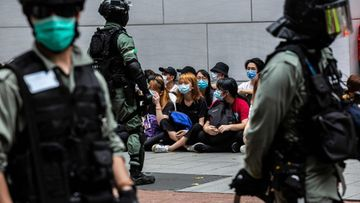 LK Hongkong mielenosoitus