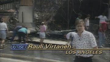 Rauli Virtanen Los Angeles 1992