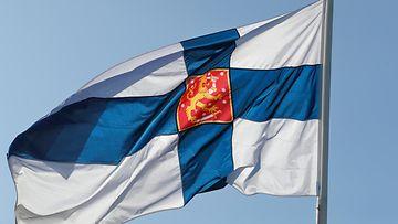 aop Suomen lippu Suomi taivas
