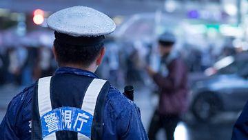 aop japani poliisi kuvituskuva