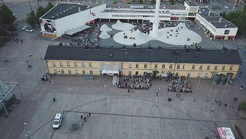 Terassit drone Helsinki