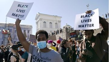 LK 090620 Black Lives Matter Helsinki
