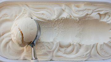 Jäätelö vaniljajäätelö