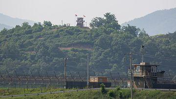 Pohjois-Korean raja Etelä-Korea epa