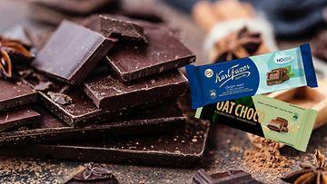 Fazer oat choco sokeroimaton suklaa