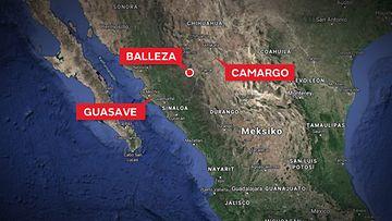 kartta-meksiko-pienkoneturma