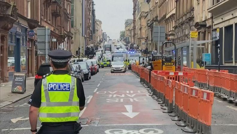 Glasgow puukotus REUTERS
