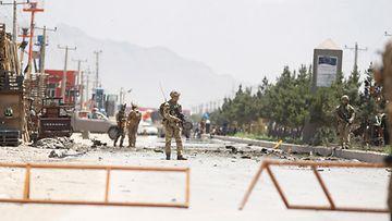 Afganistan jenkit sotilaat EPA