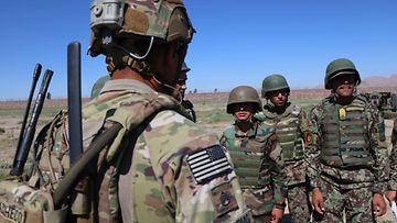 Afganistan jenkit sotilaat EPA 2
