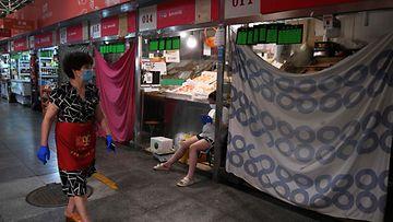 LKS, Peking, food market