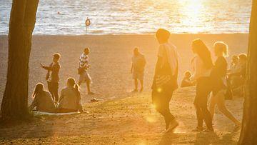 LKS, ranta, kesä