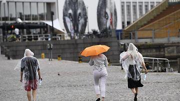 Kesä sade Helsinki