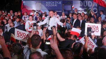 AOP, Puola, presidentinvaalit, Duda