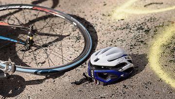 AOP polkupyörä, onnettomuus, polkupyöräilijä