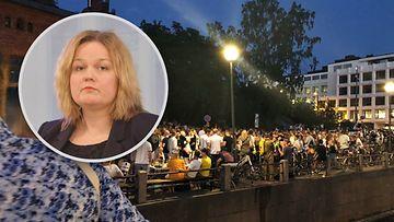 Krista Kiuru terassit Helsinki