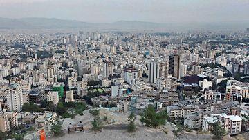 Tereran Iran kuvituskuva kaupunki