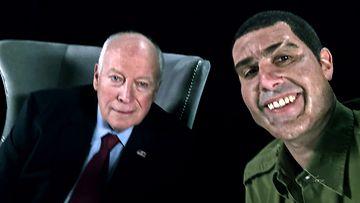 Dick Cheney Sacha Baron Cohen valeasussa 2018