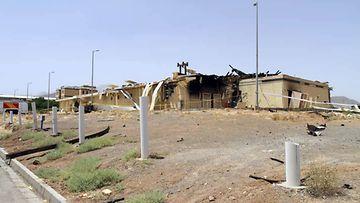 Tuhoutunut ydinvoimalaitos Iranissa AOP