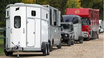 AOP, hevoskuljetus, kuljetusauto, kuljetuskärry, hevonen