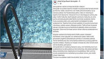 Romaninaisia ei päästetty sisään suosittuun kylpylään Rantasalmella Etelä-Savossa.