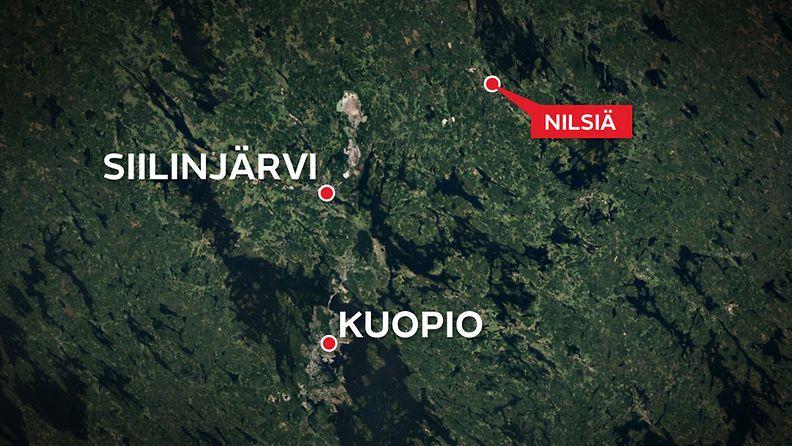 kartta-kuopio-nilsiä