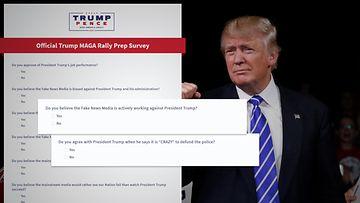 Donald Trump forms