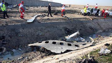 AOP ukrainalaiskone lentoturma iran teheren Ukrainian Airlines flight 752