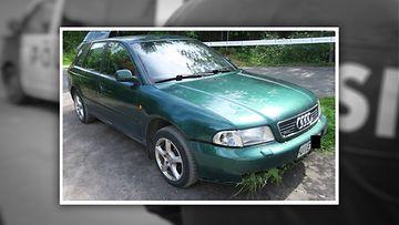 Poliisi etsii Audi
