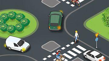 OMA, liikenneturva, liikenneympyrä