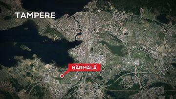 Kartta-Tampere-Härmälä