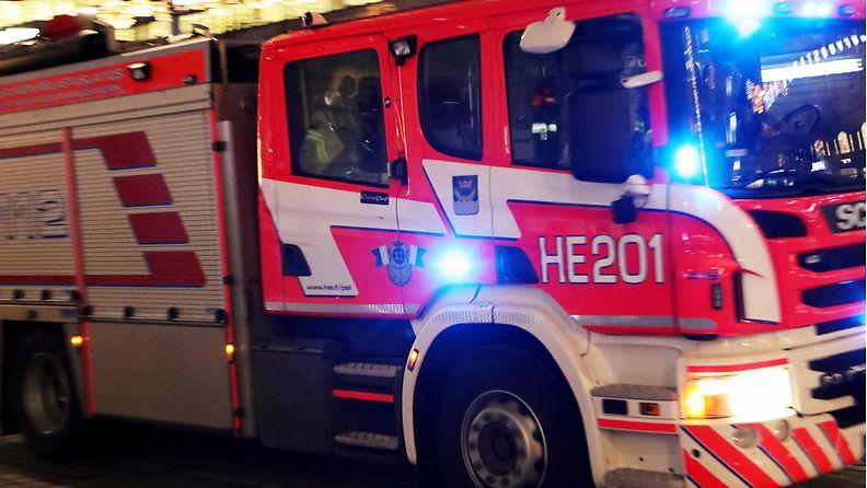 AOP tulipalo, pelastuslaitos
