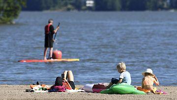 LK Oittaan uimaranta, Espoo