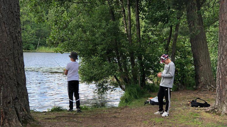 Kuusijärvi, Vantaa, virvelöinti, kalastus