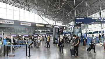 LK lentokenttä, matkustus, Helsinki-Vantaa