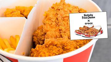 Kuvituskuva Crocsien kuva KFC