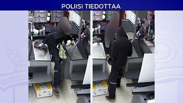 Poliisi tiedottaa Savonlinnan K-kauppa Hovikulma