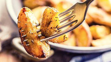 paistetut perunat peruna