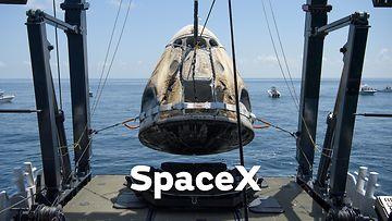 SpaceX laskeutuminen 020820