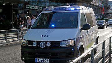 AOP, poliisi, poliisiauto, kuvituskuva, liikenne, helsinki