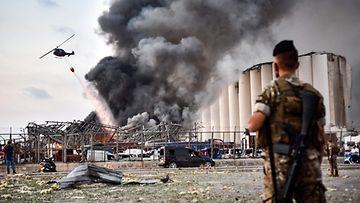 LK Libanon, räjähdys libanolilaiset sotilaat