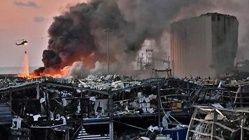 LK, Libanonin räjähdys