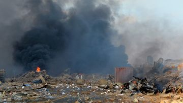 Beirut räjähdys 4.8.2020 8