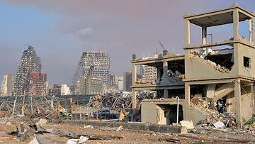 Beirut räjähdys 4.8.2020 2